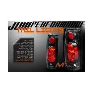 Chevy Blazer Tail Lights Black Altezza Taillights 1992 1993 1994 92 93