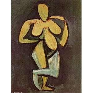 Pablo Picasso   24 x 32 inches   Desnudo de pie 2: Home & Kitchen