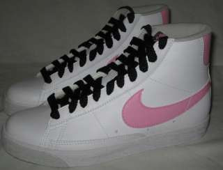 NIKE Blazer Mid Leather GIRLS SHOES Size 5.5 Y (GS) NEW
