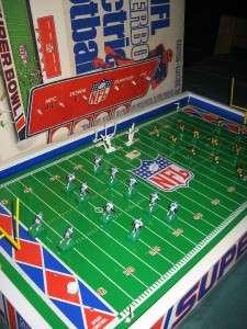 Vintage Tudor Electric Football SuperBowl Game 1978 Cowboys vs