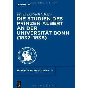 Prinzen Albert an der Universität Bonn (1837 1838) (Prince Albert