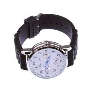Silicone Electronic Quartz Wrist Bracelet Watch For Ladies Girls Women