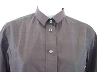 DOLCE & GABBANA Plum Button Down Shirt Sz 40