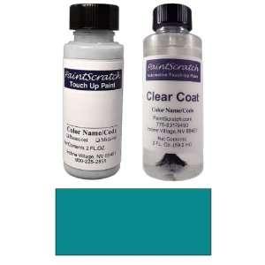 2 Oz. Cyclone (Grayish) Blue Metallic Paint Bottle Kit for