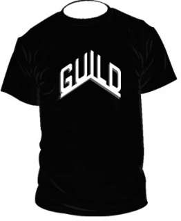 Guild t shirt guild guitars tshirt guild t shirt SIZES S XXL
