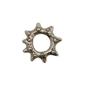 Green Girl Pewter Sun Rock 27mm Charms Arts, Crafts