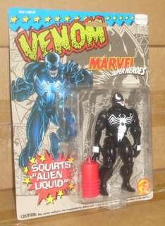 Toy Biz Venom Alien Liquid Action Figure MOC Spider Man