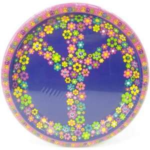 Party Supplies plate 9 8 ct groovy girl party Toys