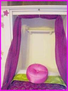 American Girl Doll 3 in 1 MURPHY BED WARDROBE VANITY Pick Up Only