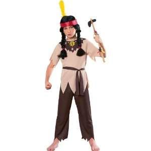 Child Native American Indian Warrior Costume Halloween