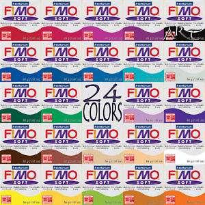 97 oz) FIMO Soft Polymer Clay   pâte à modeler / Pasta Para Hornear