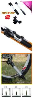 Mini Portable Bike Pump Bicycle Inflator Tire pump NEW