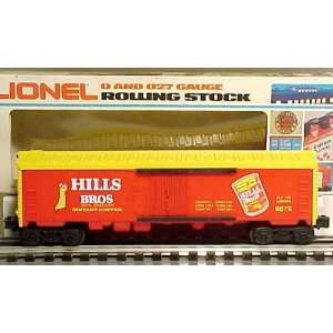Lionel 6 9879 Hills Bros.Coffee Billboard Reefer Car LN