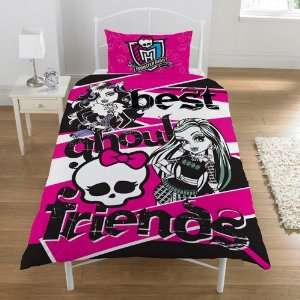 Monster High Best Ghoul Friends Panel Single Bed Duvet