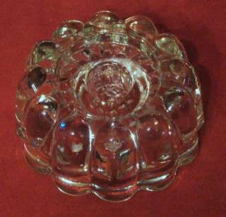 Vintage Princess House Crystal Glass 3 way Candle Holders 2 Pair Taper