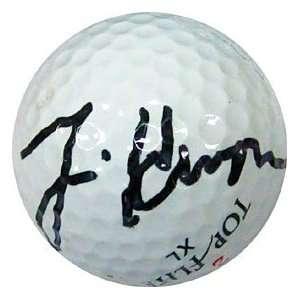 Tim Herron Autographed / Signed Golf Ball Sports