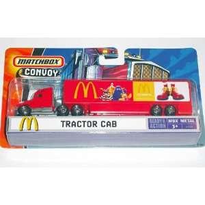 Matchbox Convoy   McDonalds Tractor Trailer Cab (2006): Toys & Games