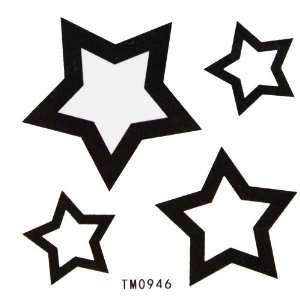 King Horse Hot selling waterproof black tattoo stickers totem hollow