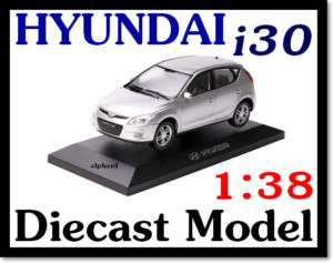 HYUNDAI BrandCollection] i30 Deicast Model Mini Car |