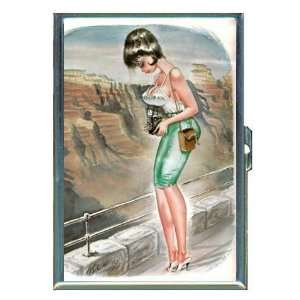 Bill Ward Grand Canyon Pin Up ID Holder, Cigarette Case or