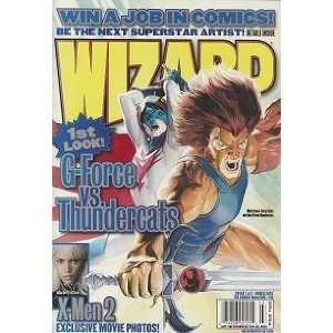 Wizard #138 March 2003 (Magazine): Books