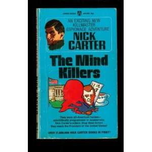 The Mind Killers Nick Carter Books