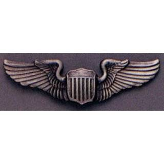 U.S. Air Force Pilot Wings Pin Gold Plated 3 Arts