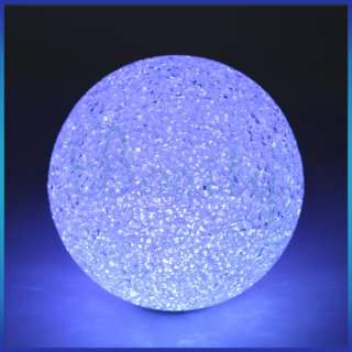 Changing Crystal Ball LED Night Light Lamp Gift Party Wedding Decor