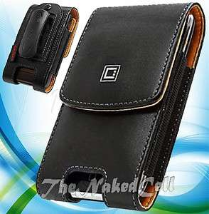 for APPLE IPHONE 4S VERIZON BLACK VERTICAL LEATHER CASE HOLSTER POUCH