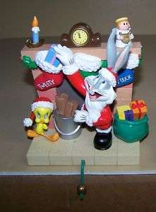 Looney Tunes Tweety Bird & Bugs Bunny Stocking Holder