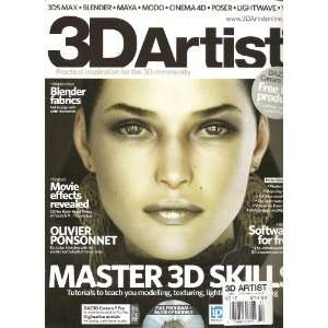 3d ARTISTS MAGAZINE (UK) (MASTER 3D SKILLS, NO. 17): Books