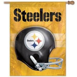 NFL Pittsburgh Steelers Helmet Banner Flag Sports