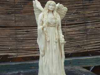 detailed Guardian Angel Statue Figure from Jacklyn Kelly in gift box