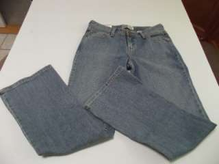 NEW Misses LEVIS SIGNATURE Low rise Boot Cut Jeans NWT No Gap Waist