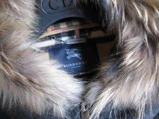BURBERRY LONDON Japan nova check wool COAT size 42 gorgeous gray