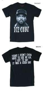 Ice Cube   Photo With Logo T Shirt