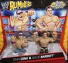 WWE Rumblers Mini 2 Pack John Cena & The Rock   WWS
