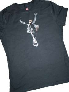 NEW Michael Jackson Metallic Womens Tribute Shirt All Sizes Rare Hard