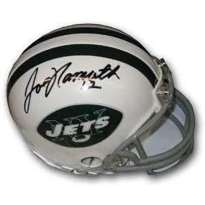 Upper Deck New York Jets Joe Namath Autographed Mini