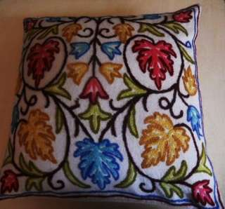 KASHMIRI CUSHION COVERS  You Can Also Choose from any one out of 16