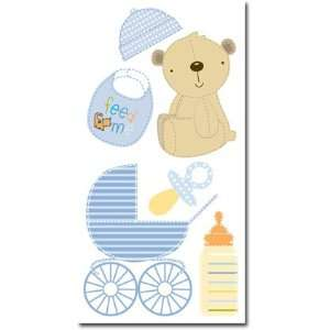 Baby Boy Sticker Sheet Arts, Crafts & Sewing