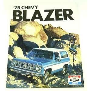 1975 75 Chevrolet Chevy BLAZER Truck BROCHURE C10 K10