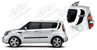 2009 & Up Kia Soul Side Accent Decal Kit