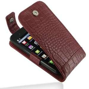 Crocodile Pattern Leather Case for LG Optimus SOL E730 Electronics
