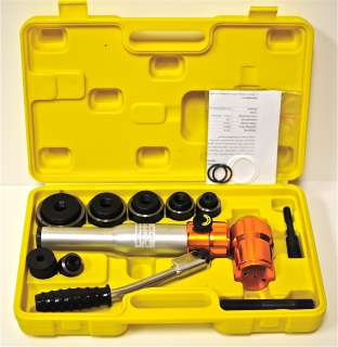 Hydraulic Knockout Punch Kit 6T Hole Puncher Knock Out