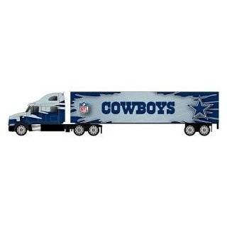 DALLAS COWBOYS NFL Semi Diecast Tractor Trailer Truck 1/87