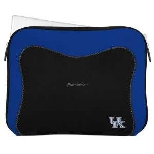 Wildcats Black Royal Blue Neoprene Laptop Sleeve