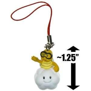 Lakitu ~1.25 Mini Figure Charm New Super Mario Bros Wii