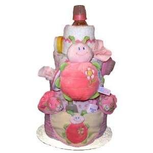 Tumbleweed Babies 1020204 Ladybug 4 Tier Diaper Cake Toys & Games