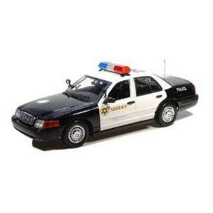 Ford Crown Victoria LA County Sheriff Police Car 1/18 Toys & Games